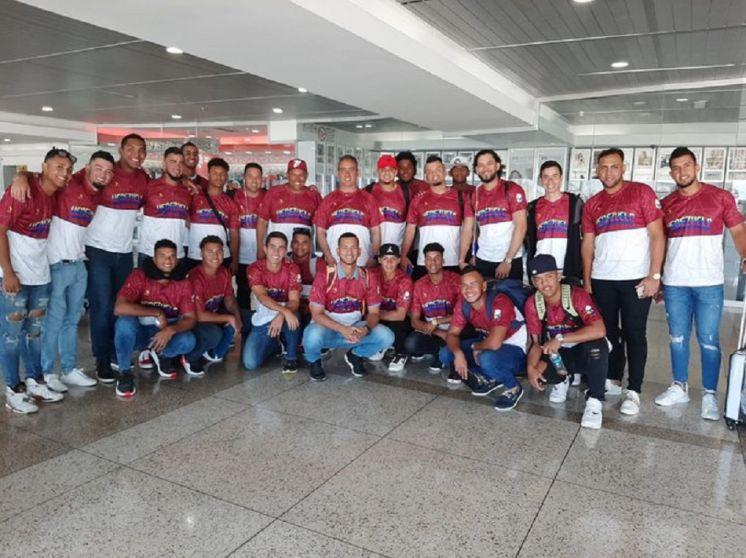 Venezuela Sub23 aterrizó en Nicaragua determinado a defender su trofeo
