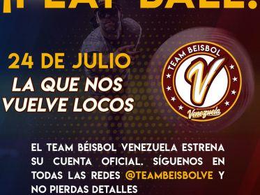 Team Beisbol Venezuela hará vibrar a la selección en redes sociales