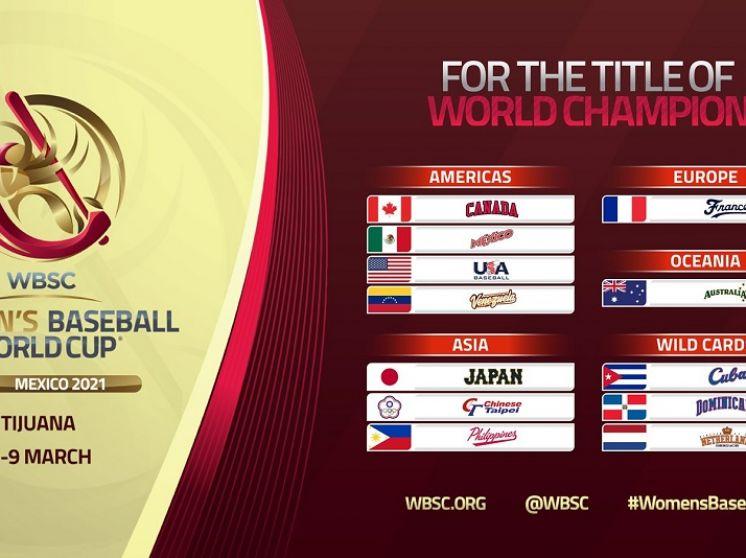 FEVEBEISBOL pensando en marzo 2021 con los Mundiales Femenino y Sub15