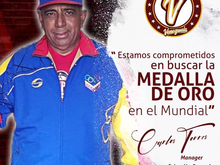 """Carlos Torres: """"estamos comprometidos en buscar la medalla de oro"""""""