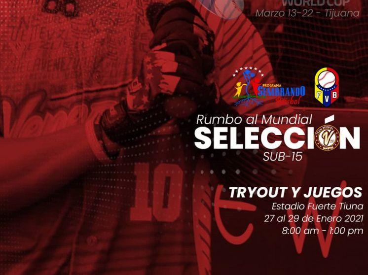 Team Venezuela Sub15 seleccionará sus jugadores en evento en Caracas