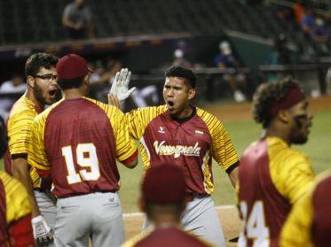 Team Beisbol Venezuela Sub23 se pone a un paso de la final del torneo